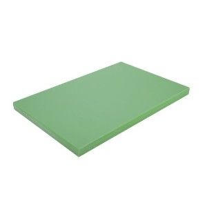 Alegacy pel1520g高密度ポリエチレンColor Coded Cutting Board、15by 20by 1インチ、グリーン