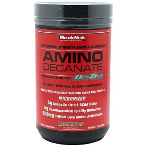 Muscle Meds Amino Decanate Watermelon 12.7 Oz (360g) by MuscleMeds