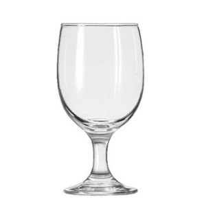 LIB3711 - Embassy Footed Drink Glasses, Goblet, 11.5oz, 6 1/8quot; Tall by Libbey [並行輸入品]