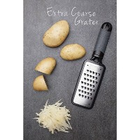 Microplane Home Series - Extra Coarse Grater - Dishwasher Safe - Surgical Grade Stainless Steel...