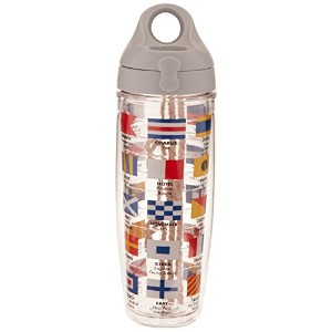 Tervis Water Bottle, Nautical Flags by Tervis