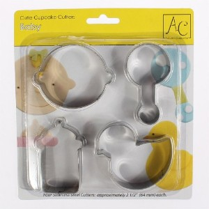 Baby Themed Cookie Cutter Set