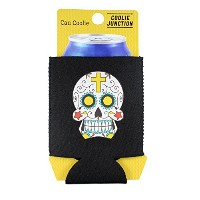Coolie JunctionシュガースカルグラフィックCan Coolie Can ブラック SugarSkullGraphicCan-Black
