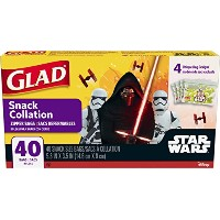 Glad Snack Collation zipper bags Star Wars