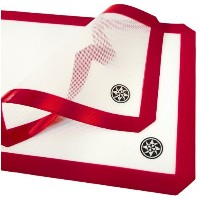 StarPack Silicone Baking Mat Set (2 Piece) - 1 x Half Sheet, 1 x Qtr Sheet - Bonus 101 Cooking Tips...