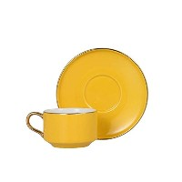 DULTON(ダルトン) カップ&ソーサー ヌメロ1 CUP&SAUCER Numelo 1 YELLOW G515-540YL