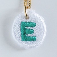 Embroidery Necklace コトダマ E