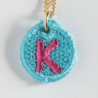 Embroidery Necklace コトダマ K