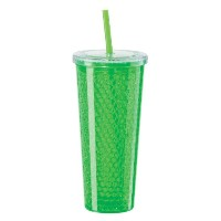 Oggi Double Wall Chill-To-Go Tumbler, 20-Ounce, Green  水筒  タンブラー グリーン 600ml