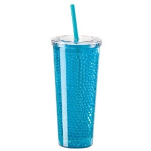 Oggi Double Wall Chill-To-Go Tumbler, 20-Ounce, Blue  水筒  タンブラー ブルー 600ml
