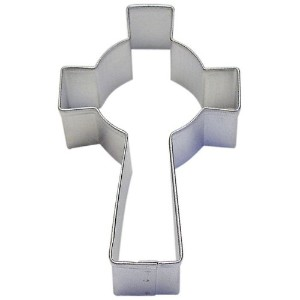 1 X Celtic Cross Tin Cookie Cutter 3.5 B1168X by Easter OTBP