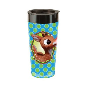 Plastic Travel Mug - Rudolph - 16oz Cup Gifts Toys New Licensed 65151