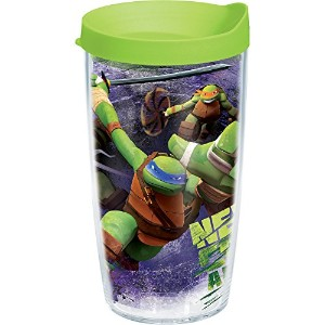 Tervis Nickelodeon Nick City Tumbler with Travel Lid, 16 oz, Clear by Tervis