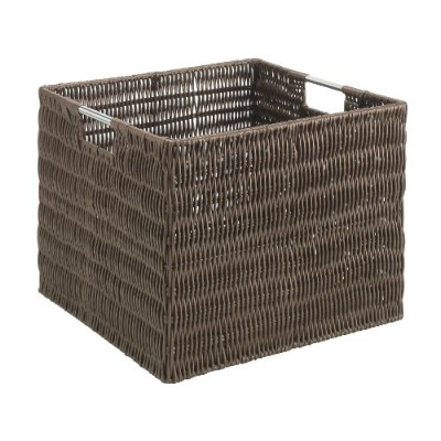 Whitmor Rattique Storage Crate, Java by Whitmor