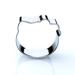 Hello Kitty Head Cookie Cutter- Stainless Steel by Sweet Cookie Crumbs