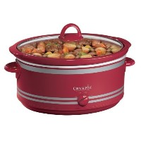 Red 7Qt Crock Pot Slow Cooker with Travel Bag by Crock-Pot