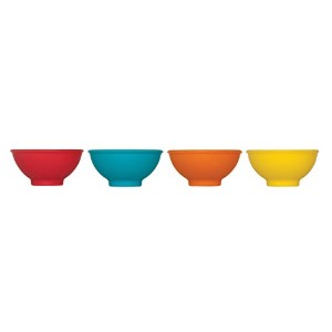 Mrs. Anderson's Baking Pinch Bowls, Silicone, Set of 4 by HIC Harold Import Co.
