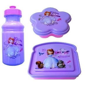 Exclusive Disney's Sofia The First Princess 3-Piece Lunch Box Set by Disney