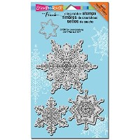 "Stampendous Christmas Cling Rubber Stamp 3.5""X4"" Sheet-Delicate Snow (並行輸入品)"