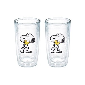 Tervis Peanuts Snoopy and Woodstock Tumbler, 16-Ounce, by Tervis