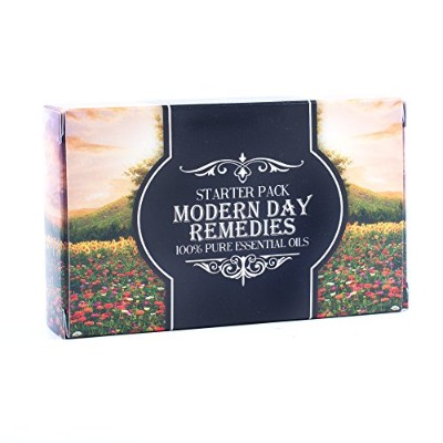 Modern Day Remedies | Essential Oil Blend Gift Pack | Aphrodisiac, Meditation, Mental Clarity,...