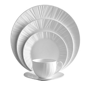 Vera Wang Wedgwoodオーガンジー5-piece Place Setting Set by VERA WANG Wedgwood