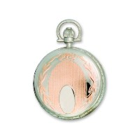 Swingtimeローズ&クロムメッキQuartz Pocket Watch