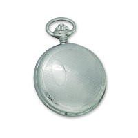 Swingtimeクロムメッキ真鍮Quartz Pocket Watch