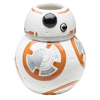 Zak! Designs Sculpted Ceramic Mug in Shape of BB-8 from Star Wars The Force Awakens, BPA-free, Star...