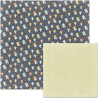 "Little One Double-Sided Cardstock 12""X12""-Swaddle (並行輸入品)"
