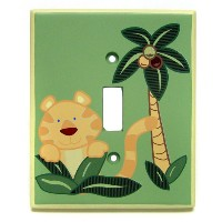 NoJo Jungle Babies Switch Plate Cover by NoJo [並行輸入品]