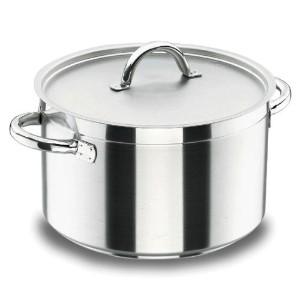 Lacor 54021 Deep Casserole with Lid d.20 CMシェフルクス
