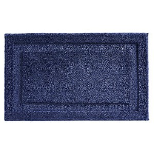 InterDesign Microfiber Spa Bath Rug, 34 x 21-Inch, Navy by InterDesign [並行輸入品]