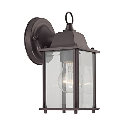 Elk Lighting 9231EW/75 1-light Outdoor Wall Sconce, Oil Rubbed Bronze by Cornerstone Lighting