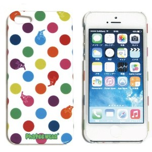 (ファッティー) Phatee I-PHONE SE/5/5S CASE ハード ケース カバー for iPhone SE/5/5s DOT