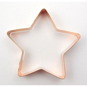 4 1/2 Patriotic Star Cookie Cutter by The Fussy Pup Patriotic Collection