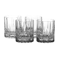 Mikasa Arctic Lights Crystal Double Old Fashioned Glass, 11.5-Ounce, Set of 4 by Mikasa