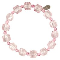 TARINA TARANTINO LUCITE AND CRYSTAL BRACELET BP[正規輸入品]