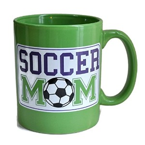Soccer Mom Coffee Mug Cup 16 Ounce by DEI