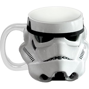 Star Wars Storm Trooper Sculpted Ceramic Mug by Vandor