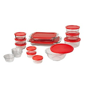 Pyrex Easy Grab 28-Piece Glass Bakeware and Food Storage Set by Pyrex [並行輸入品]