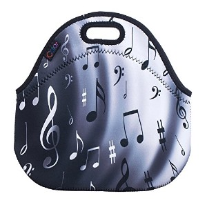 iColor Neoprene Lunch Bag Kids Thermal Lunch Tote Bag Lunch Box & Food Container Insulated Soft...