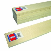 Midwest Products 4306 Micro-Cut Quality Basswood Sheet Bundle, 0.25x3x24 Inches by Midwest Products...