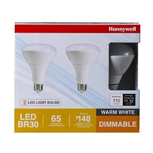 Honeywell FE0501 12W 770 lm BR30 LED Bulb, (2-Pack) by Honeywell