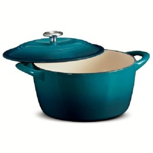 Tramontina Enameled Cast Iron 6.5 Qt Covered Round Dutch Oven by Tramontina