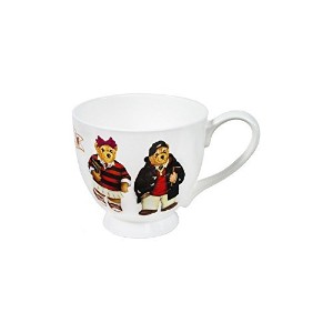 Teddy Bear Coffee Mug - Red and Black by BARCHESCO