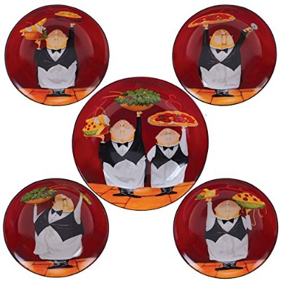 Certified International Waiters 5-pc。パスタセット One Size 89232