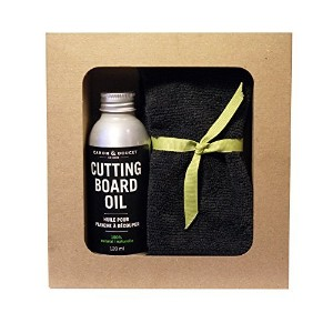Caron & Doucet - Cook's Gift Set Bundle: 2 Items - 1 Cutting Board Oil & 1 Microfiber Cloth. by...