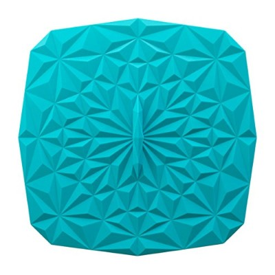 GIR: Get It Right Premium Silicone Rectangular Lid, 9 by 9 Inches, Teal by GIR: Get It Right