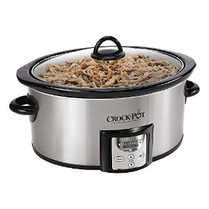 Crock-Potテつョ SCCPVC400-S 4 qt. Count Down Slow Cooker Is Designed for Everyday Cooking by Crock-Pot